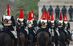 De Koninklijke Wacht van het paard Stock Afbeeldingen