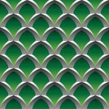 De kooi naadloos patroon van het staal Stock Illustratie