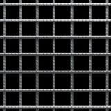De kooi van de gevangenis. stock illustratie