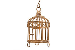 De kooi van de vogel Royalty-vrije Stock Fotografie