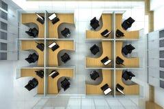 De kooi van het bureau Stock Afbeelding