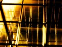 De kooiwereld van Mistical op brand met onduidelijk beeld Royalty-vrije Stock Afbeeldingen