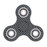 De koolstof friemelt spinner - 3D illustratie geeft modern terug Royalty-vrije Stock Foto