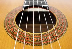 De koorden van de gitaar Royalty-vrije Stock Foto
