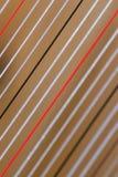De koorden van de harp stock foto's