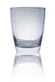 Blauwe glaskop Royalty-vrije Stock Foto