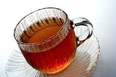 De Kop thee van het glas Royalty-vrije Stock Foto's