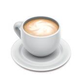 De kop van cappuccino's stock illustratie