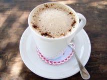 De kop van cappuccino's Royalty-vrije Stock Afbeeldingen