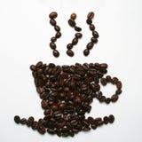 De Kop van de Boon van de koffie Stock Afbeeldingen