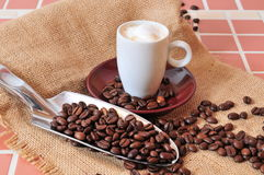 De Kop van de Espresso van Kaffee stock fotografie