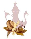 De kop van de koffie stock illustratie