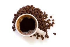 Koffiekop stock afbeelding