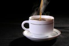 De kop van de koffie en van de thee stock fotografie