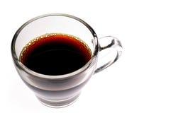 De kop van de koffie - kop van koffie Stock Foto