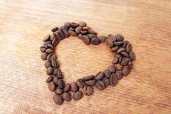 De kop van de koffie met hart Royalty-vrije Stock Foto