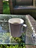 De kop van de koffie op de lijst Stock Afbeelding