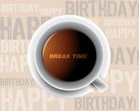 De kop van de ochtend van koffie Stock Afbeeldingen