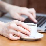 De kop van de ochtend van koffie Royalty-vrije Stock Foto's