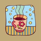 De kop van de thee Royalty-vrije Illustratie