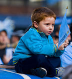 De kop van de wereld 2010 in Montevideo Uruguay Royalty-vrije Stock Foto