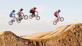 De Kop van de WERELD BMX 2011 Stock Foto's