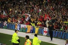 De Kop van de Wereld van het rugby 2011 Australië tegenover Wales Stock Fotografie