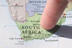 De Kop van de Wereld van het voetbal Zuid-Afrika 2010 Stock Foto's