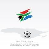 De kop van de wereld Zuid-Afrika royalty-vrije illustratie