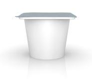 De kop van de yoghurt Stock Foto