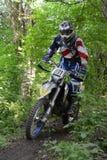 De kop van Endurocross Stock Foto's