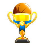 De kop van het basketbal Royalty-vrije Stock Foto's