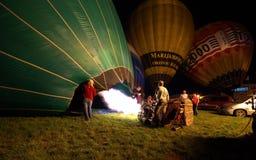 De Kop van Hynek - de Internationale kop van de hete luchtballon Royalty-vrije Stock Afbeeldingen