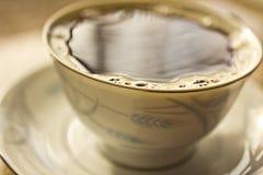 De kop van de ochtend van koffie Stock Foto