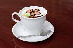 De Kop van de ochtendkoffie Stock Fotografie
