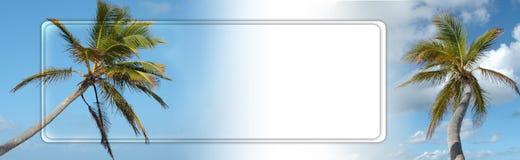 De kopbal of de banner van de reis Stock Foto