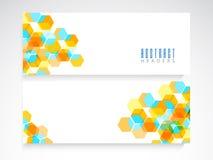 De kopbal of de bannerreeks van de website Royalty-vrije Stock Afbeeldingen