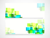 De kopbal of de bannerreeks van de website Royalty-vrije Stock Afbeelding
