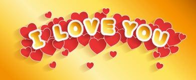 De kopbal van de de Dagkaart van Valentine Royalty-vrije Stock Foto's