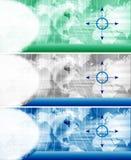 De kopbal van de website vector illustratie