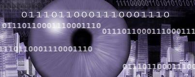 De kopbal van Internet Stock Afbeelding