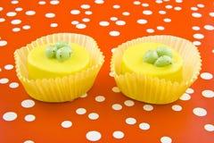De kopcakes van Pasen stock afbeelding