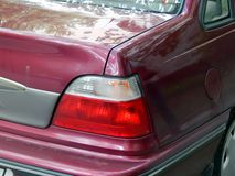De koplamp van auto dichte omhooggaand stock afbeeldingen