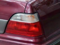 De koplamp van auto dichte omhooggaand royalty-vrije stock foto's