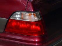 De koplamp van auto dichte omhooggaand stock afbeelding