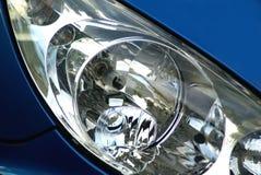 De koplamp van de auto. Royalty-vrije Stock Foto's