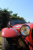 de koplamp van de jaren '20raceauto Royalty-vrije Stock Fotografie