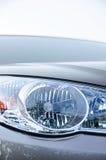 De koplamp van de luxeauto stock fotografie