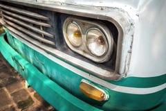 De koplamp van de oude auto royalty-vrije stock fotografie