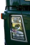 De koplamp van de vrachtwagen royalty-vrije stock fotografie